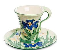 Фарфоровая чайная пара Ирис (Pavone) JP-625/ 1, фото 1