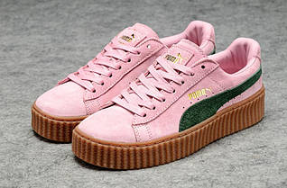 a8b93713bb4b Жеские кроссовки Puma Rihanna Suede Creeper
