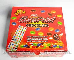 Choco Point chocolate Filutka филютки разноцветные шоколадные драже на блистере 24 шт Турция