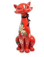 Фарфоровая статуэтка Кошка (Pavone) JP-11/42