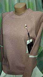 Тонкий свитер нежных расцветок