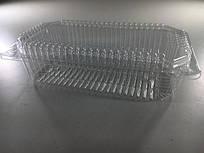 Одноразовый контейнер для продуктов с крышкой SL407 (V1250мл\228*130*13+48) (50 шт)