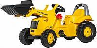 Трактор педальный с ковшом (2-7 лет) RollyKid NH Construction Rolly Toys 25053