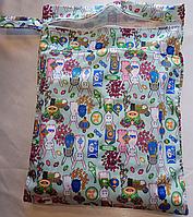 Удобные сумочки для сухих и мокрых вещей c двумя отделениями пасхальный кролик