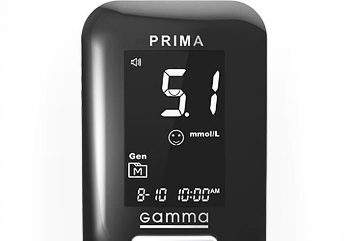 Глюкометр Gamma Diamond Prima  (Гамма Диамант Прима)