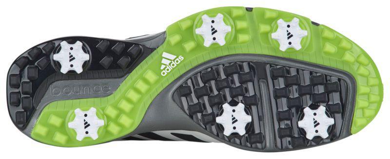 22b14ed8d17ef ... Кроссовки Кеды (Оригинал) adidas Adipower Bounce Golf Shoes White Black  Solar