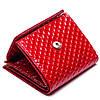 Маленький женский кожаный кошелек Karya 1066-122 красный, фото 3