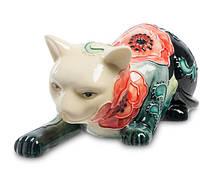 Фарфоровая статуэтка Кошка (Pavone) JP-183/ 1