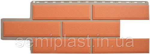 Фасадная панель Камень Венецианский Терракотовый Альта-Профиль