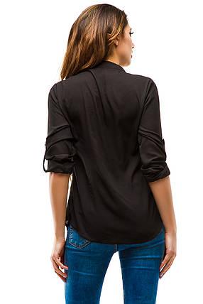 Блузка 270 черная, фото 2
