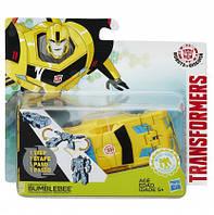 TRA Трансформеры Роботс-ин-Дисгайс Уан-Стэп(Bubmblebee Energon Boost в ассорт.)