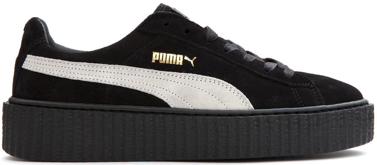 5931e78a6c37 Женские кроссовки Puma Rihanna Suede Creeper