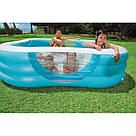 Надувной бассейн Family Intex 57495 229х229х56 см, фото 3