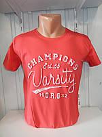 Футболка мужская 3Д RBS  стрейч коттон VARCITY 001 \ купить футболку мужскую оптом