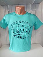 Футболка мужская 3Д RBS  стрейч коттон VARCITY 004 \ купить футболку мужскую оптом
