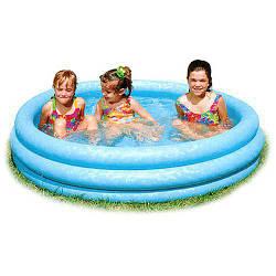 Надувной детский бассейн Intex 58426 – «Хрустальный»