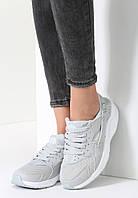 Женские польские серые летние кроссовки копия Nike Air Huarache Найк Хуарачи