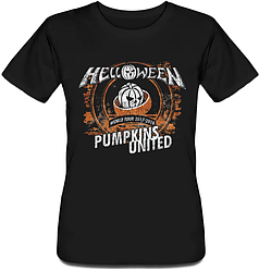 Женская футболка Helloween - Pumpkins United Rings