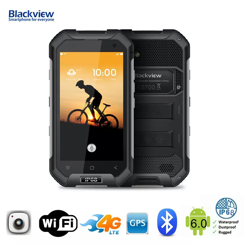 Смартфон Blackview BV6000S Black Ip68