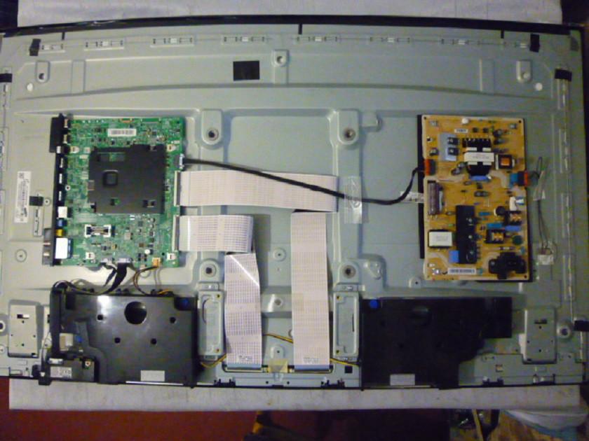 Плати від LED TV Samsung UE43KU6502UXXH по блоках (розбита матриця).