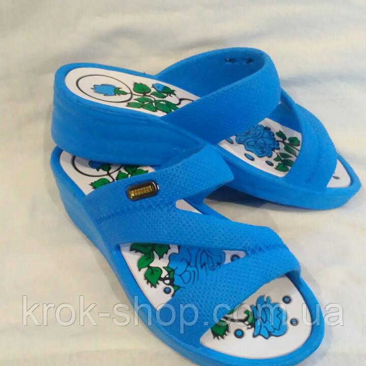 Пляжная обувь женская на платформе оптом Roksol