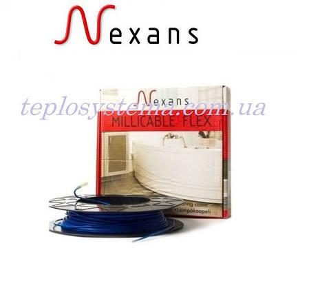 Тонкий двухжильный нагревательный кабель Nexans Millicable Flex 15 750 Вт (3,9-5,0 м2) Норвегия, фото 2