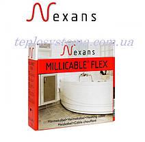 Тонкий двухжильный нагревательный кабель Nexans Millicable Flex 15 750 Вт (3,9-5,0 м2) Норвегия, фото 3
