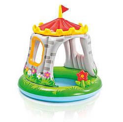 """Детский бассейн """"Королевский Замок"""" Intex 122х122см."""