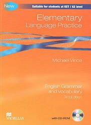 Elementary (KET) Language Practice 3rd Edition without Answer Key with CD-ROM