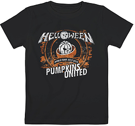 Детская футболка Helloween - Pumpkins United Rings