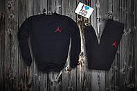 Спортивный костюм Jordan (ЧЕРНЫЙ), Реплика