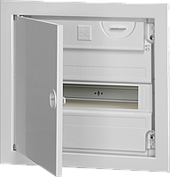 Корпус КМПв 4/14 с металлической дверцей встраиваемый IP30 IEK