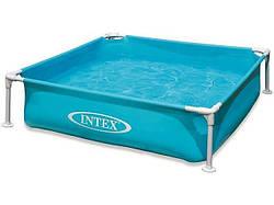 Дитячий каркасний басейн intex 57173 (122 х 122 х 30)