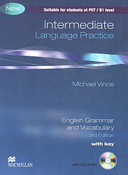 Intermediate (PET) Language Practice 3rd Edition with Answer Key with CD-ROM