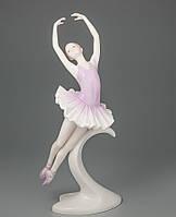"Фарфоровая статуэтка Veronese ""Балерина"" (27 см) 00526 AA"