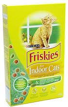 Корм ФРИСКИС FRISKIES для кішок INDOOR садової травою для домашніх кішок 270 г