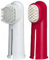 Набор пальчиковых зубных щеток для кошек и собак 6см/2шт, Trixie™
