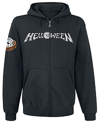 Толстовка с молнией Helloween - Pumpkins United Rings
