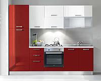 Доступная итальянская кухня (с бытовой техникой) 255 см 6 вариантов