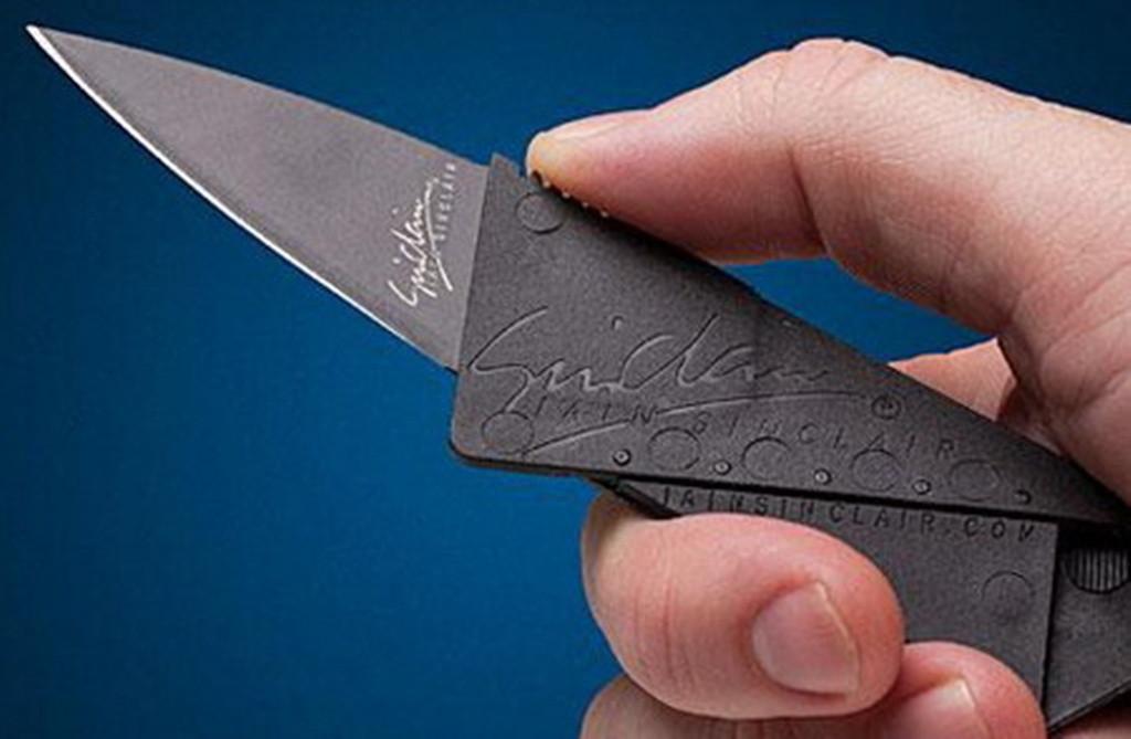 Нож-кредитка на все случаи