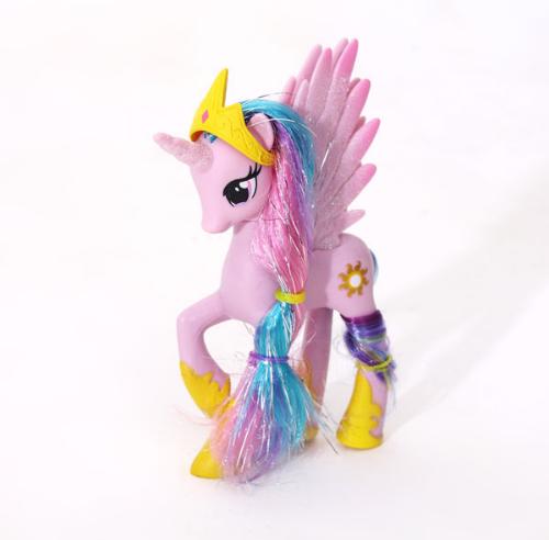 Пони 14 см. My Little Pony Мой маленький пони Розовая Игрушка для девочек Единорог