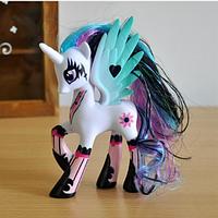 Пони 14 см. My Little Pony Мой маленький пони Белая Игрушка для девочек Единорог, фото 1