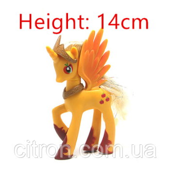 Пони 14 см. My Little Pony Мой маленький пони Эпплджек Игрушка для девочек Единорог