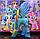 Пони 14 см. My Little Pony Мой маленький пони Луна Игрушка для девочек Единорог, фото 5