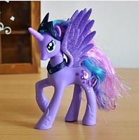 Пони 14 см. My Little Pony Мой маленький пони Луна Игрушка для девочек Единорог, фото 1