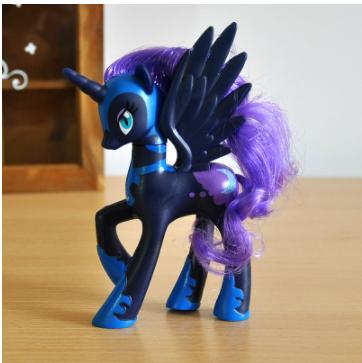 Пони 14 см. My Little Pony Мой маленький пони Луна Игрушка для девочек Единорог