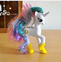 Пони 14 см. My Little Pony Мой маленький пони Селестия Игрушка для девочек Единорог