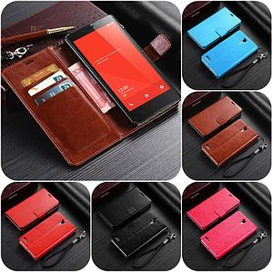 """Xiaomi Redmi Note оригинальный кожаный чехол книжка кошелёк с карманами мраморная кожа на телефон """"LUXON"""""""
