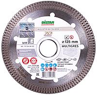 Круг алмазный Distar 1A1R MULTIGRES 125 мм отрезной диск по керамограниту и тяжелой керамике для УШМ
