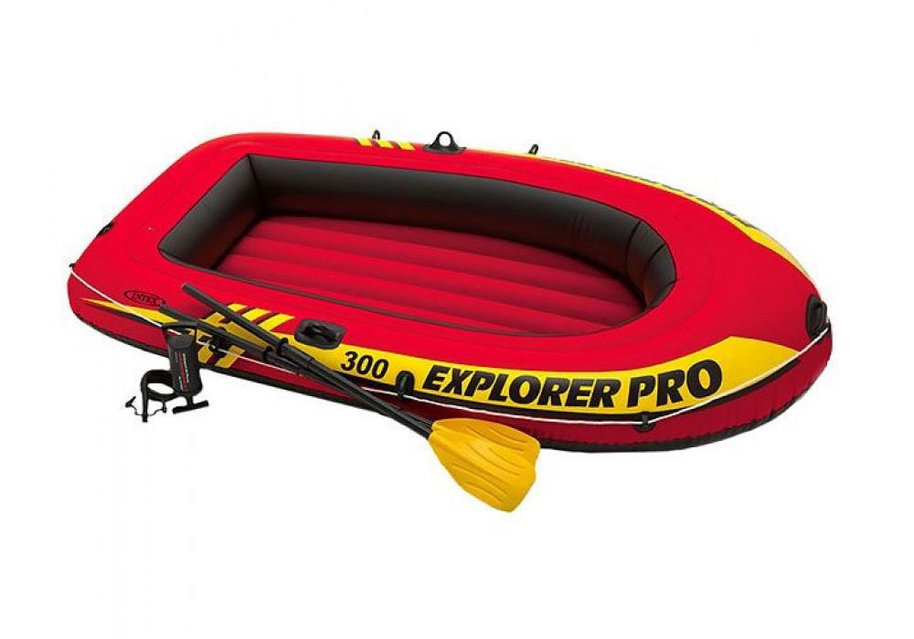 Надувная лодка Intex Explorer Pro 300 (244-117-34 см.)